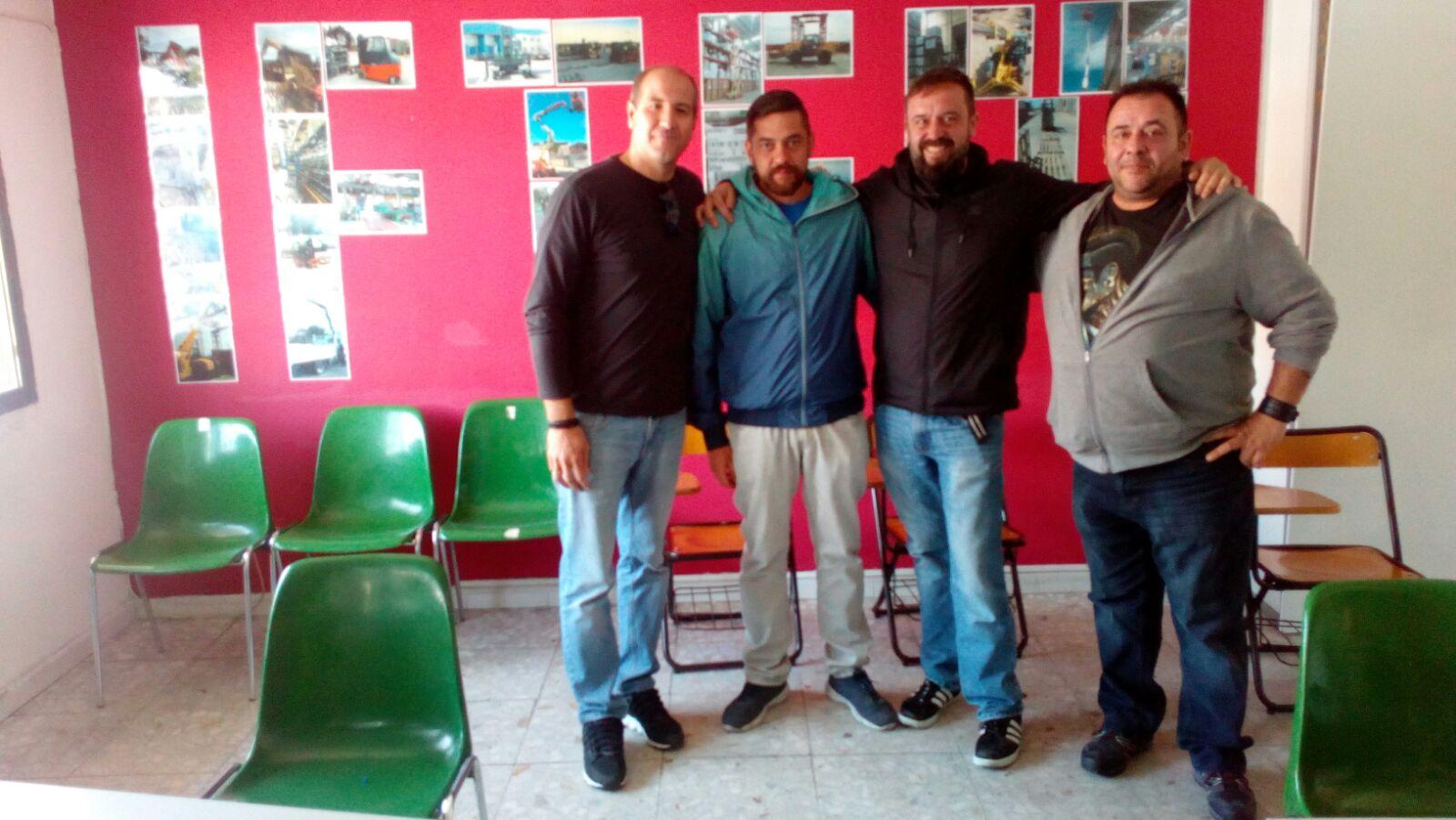 Grupo del curso de formación para ID LOGISTICS