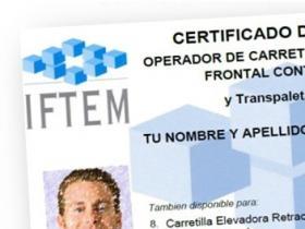 carnet-certificado de carretillas elevadoras